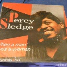 Libros de segunda mano: EXPRO LP ESPAÑA 87 PERCY SLEDGE WHEN A MAN... VINILO CORRECTO. Lote 224328635