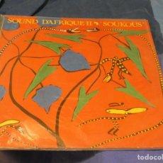 Libros de segunda mano: EXPRO LP ALEMANIA 82 VINILO MUY BUEN ESTADO SOUKOUS SOUND D'AFRIQUE II. Lote 224329193