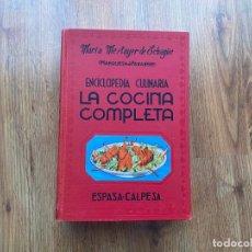 """Libros de segunda mano: ENCICLOPEDIA CULINARIA """"LA COCINA COMPLETA"""". Lote 225139880"""