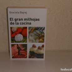 Libros de segunda mano: EL GRAN MILHOJAS DE LA COCINA , GABRIELA BAJRAJ - EDITORIAL HUME. Lote 225716920