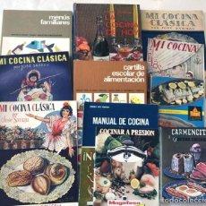 Libros de segunda mano: 11 LIBROS DE COCINA DIFERENTES /. Lote 227640660