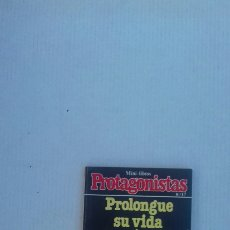 Libros de segunda mano: PROLONGUE SU VIDA COMIENDO (MINI LIBROS PROTAGONISTAS N°17). Lote 227646390