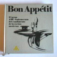 Libros de segunda mano: BON APPETIT - EL GRAN AMC-VADEMECUM DEL CONDIMENTO DE LA COCINA MODERNA - GISELA NAU. Lote 227651875