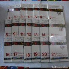 Libros de segunda mano: GUIES GASTRONOMIQUES I TURISTIQUES DE LES COMARQUES DE CATALUNYA 20 LLIBRES (SUELTOS A 1€). Lote 228646840