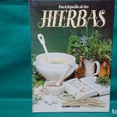 Libros de segunda mano: LIBRO ENCICLOPEDIA DE LAS HIERBAS Y RECETAS DE COCINA - JAIMES LIBROS. Lote 228873455