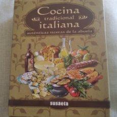 Libros de segunda mano: LIBRO COCINA TRADICIONAL ITALIANA SUSAETA. Lote 229040375