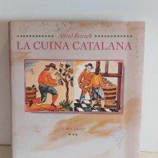 Libros de segunda mano: LA CUINA CATALANA VIII / ALFRED REXAC / VINS I CAVES / NUEVO DE OCASIÓN.. Lote 229046485