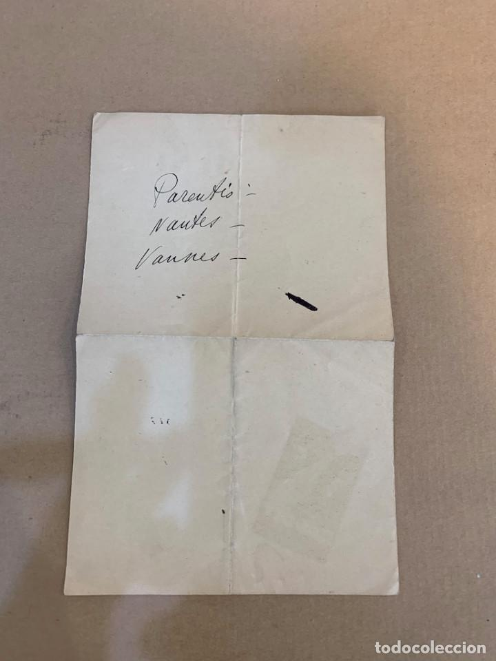 Libros de segunda mano: MENU GRAND HOTEL SABLES / ST. GALMIER BADOIT EAU MINERALE NATURALE / 29 JUNIO 1933 - Foto 2 - 229998100