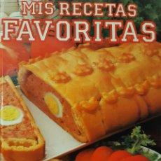 Libros de segunda mano: MIS RECETAS FAVORITAS CLARIDAD SENCILLEZ Y UTILIDAD GRAFALCO 1992. Lote 231566890