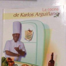 Libros de segunda mano: LA COCINA DE CARLOS ARGUIÑANO. Lote 232055505