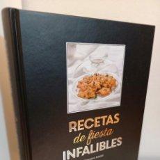 Libros de segunda mano: RECETAS DE FIESTA INFALIBRES, VINCENT AMIEL, GASTRONOMIA / GASTRONOMY, CIRCULO DE LECTORES, 2017. Lote 232483705