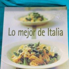 Libros de segunda mano: LO MEJOR DE ITALIA. Lote 233182990