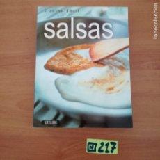 Libros de segunda mano: SALSAS. Lote 233380825