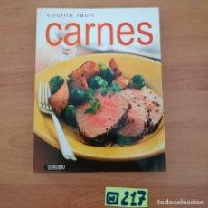 Libros de segunda mano: CARNE. Lote 233381310