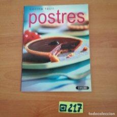 Libros de segunda mano: POSTRES. Lote 233381530