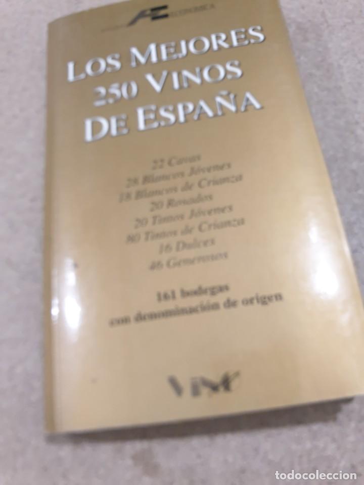 LOS 250 MEJORES VINOS DE ESPAÑA....1994.... (Libros de Segunda Mano - Cocina y Gastronomía)