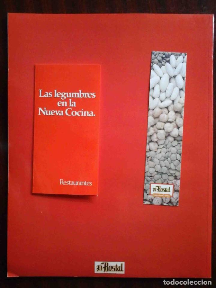 Libros de segunda mano: Las legumbres en la Nueva Cocina (El Hostal) Con marcapáginas original - Foto 2 - 235343540