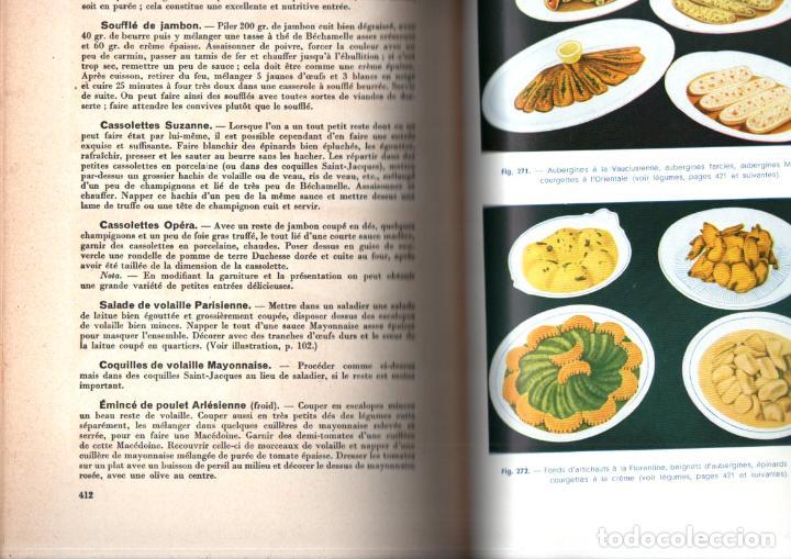 Libros de segunda mano: LART CULINAIRE MODERNE - LA BONE TABLE FRANÇAISE ET ÉTRANGERE (1937) - Foto 3 - 235407540