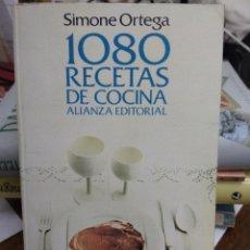 Libros de segunda mano: 1080 RECETAS DE COCINA, SIMONE ORTEGA. L.22820. Lote 236223315
