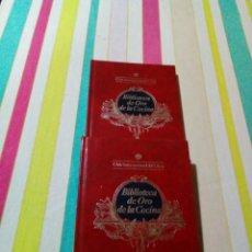 Libros de segunda mano: BIBLIOTECA DE ORO DE LA COCINA-Nº4 Y 5. Lote 236944890