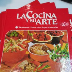 Libros de segunda mano: LA COCINA Y SU ARTE 6 TOMOS SA2593. Lote 237896570