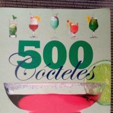 Libros de segunda mano: 500 COCTELES. SERVILIBRO. Lote 237919810