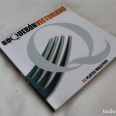 Libros de segunda mano: BOQUERÓN VICTORIANO 45 PLATOS MAESTROS – RICON DE LA VICTORIA CURIOSAS RARAS PECULIARES RECETAS. Lote 238157495