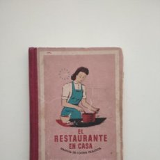 Libros de segunda mano: EL RESTAURANTE EN CASA. MANUAL DE COCINA PRÁCTICA. F. SEFAYA SEIX BARRAL 1948, TAPA DURA 290 PAG.. Lote 238268280