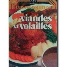 Libros de segunda mano: VIANDES ET VOLAILLES. MARABOUT. Lote 238360025