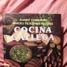 Libros de segunda mano: COCINA GALLEGA, DE ALVARO CUNQUEIRO Y ARACELI FILGUEIRAS. EXCELENTE ESTADO. EVEREST. Lote 238872475