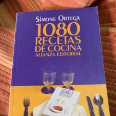 Libros de segunda mano: 1080 RECETAS DE COCINA DE SIMONE ORTEGA. Lote 239415370