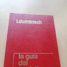 Libros de segunda mano: LA GUIA DEL GASTRONOMO. IGNACIO DOMENECH. 8ª EDICION. 1987. PAG. 445.. Lote 240428995