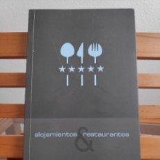 Libros de segunda mano: ALOJAMIENTOS Y RESTAURANTES, TOLEDO 2009. Lote 240505200