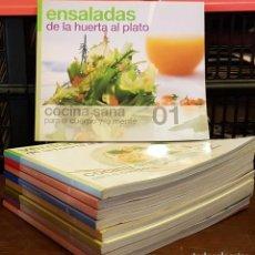 Libros de segunda mano: LOTE 9 LIBROS DE COCINA DIFERENTES NUMEROS. Lote 241484300