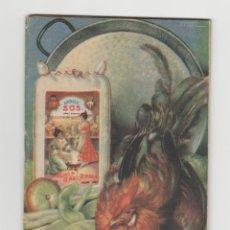 Libros de segunda mano: LIBRO DE COCINA-SOS- AÑO 1960. Lote 241529700