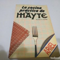Libros de segunda mano: LA COCINA PRACTICA DE MAYTE PLAZA & JANES. Lote 241835275