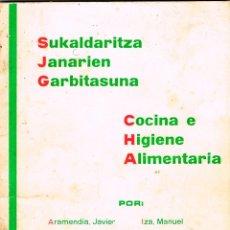 Libros de segunda mano: COCINA E HIGIENE ALIMENTARIA, CON RECETAS, VER INDICE. Lote 242095500