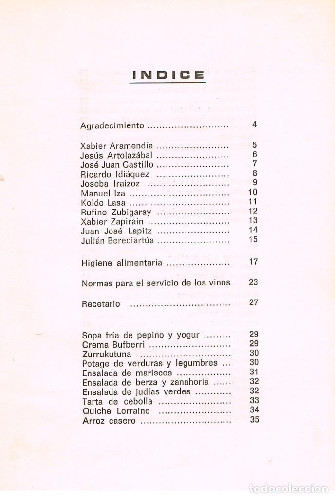 Libros de segunda mano: Cocina e higiene alimentaria, con recetas, ver indice - Foto 2 - 242095500