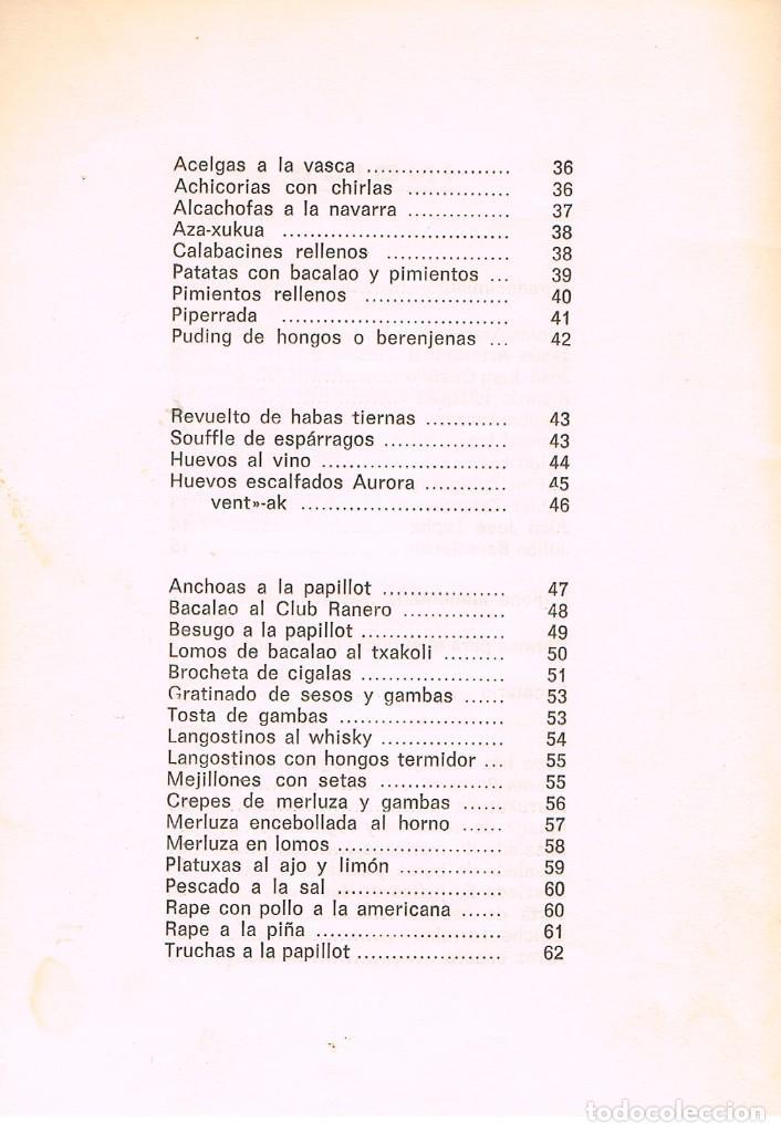 Libros de segunda mano: Cocina e higiene alimentaria, con recetas, ver indice - Foto 3 - 242095500