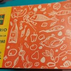 Libros de segunda mano: RECETARIO CARMELA SELECTA ADATADO PARA LA CAZUELA-HORNO. Lote 242918270