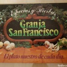Libros de segunda mano: GRANJA SAN FRANCISCO ESPECIAS Y HIERBAS. Lote 243882580