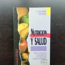 Libros de segunda mano: NUTRICION Y SALUD. Lote 244456785