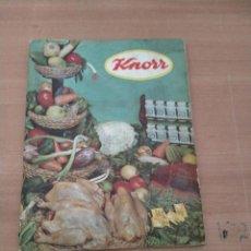 Libros de segunda mano: KNORR. Lote 244462765