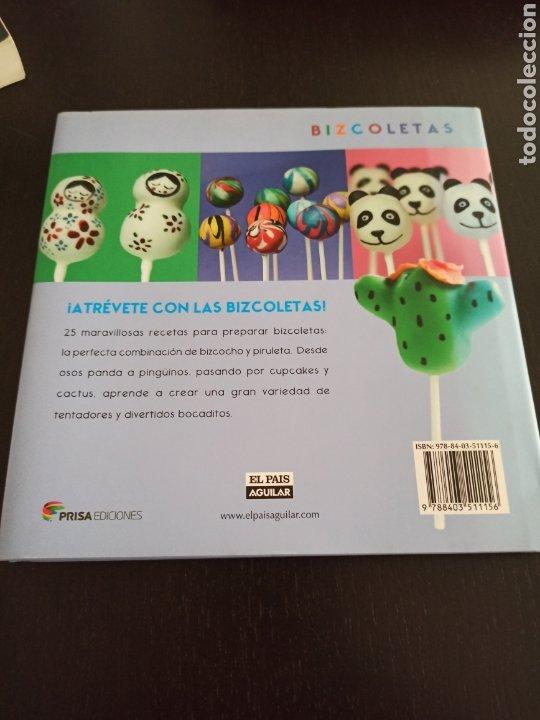 Libros de segunda mano: Bizcoletas. 25 recetas de minibizcochos en palitos. Clare OConnell - Foto 2 - 244532145