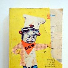 """Libros de segunda mano: RECETAS DE COCINA MAGEFESA. 1961, POR AQUÍ, LA BUENA COCINA....."""" DE FRANCOISE BERNARD.. Lote 244802380"""