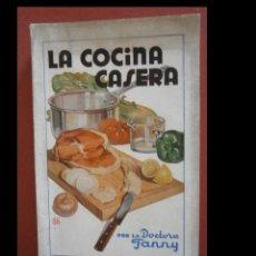 Libros de segunda mano: LA COCINA CASERA. FORMULARIO PRÁCTICO DE LA COCINA, EL COMEDOR....DOCTORA FANNY. Lote 244806335