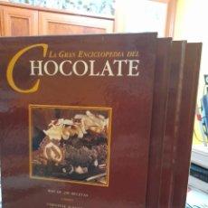Libros de segunda mano: LA GRAN ENCICLOPEDIA DEL CHOCOLATE 3 VOLUMENES. Lote 244943420