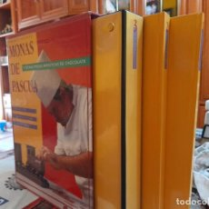 Libros de segunda mano: MONAS DE CHOCOLATE, Y OTRAS PIEZAS ARTISTICAS DE CHOCOLATE POR ENRIQUE NAVARRO, MONTAGUD EDITORES. Lote 244944205