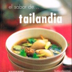 Libros de segunda mano: EL SABOR DE TAILANDIA (OI CHEEPCHAIISSARA), VER INDICE DE RECETAS. Lote 245558145