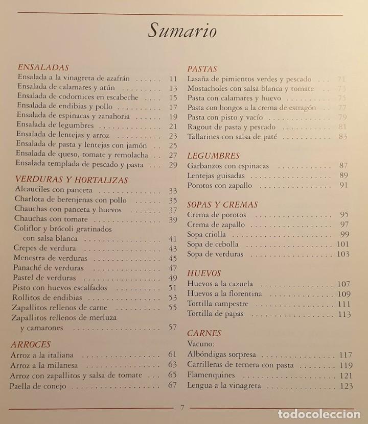 Libros de segunda mano: LIBRO KARLOS ARGUIÑANO COCINA EN ARGENTINA - 1ª EDICION 1997 - Foto 5 - 249221010